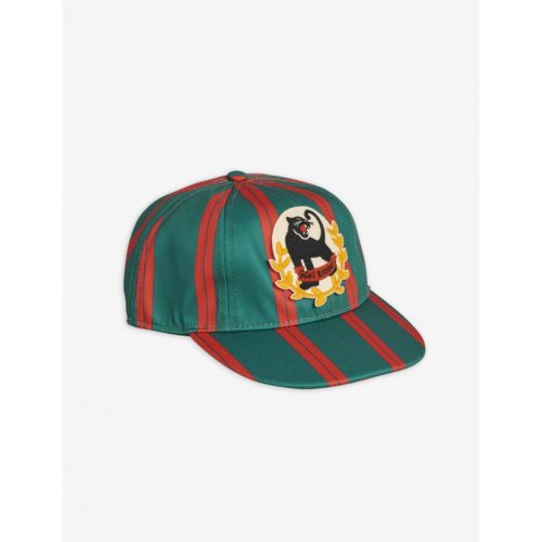 Panther Badge Cap Green
