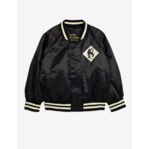 Panther Baseball Jacket Black