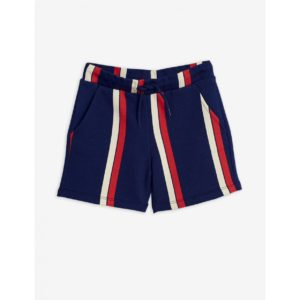 Stripe Sweatshorts Blue