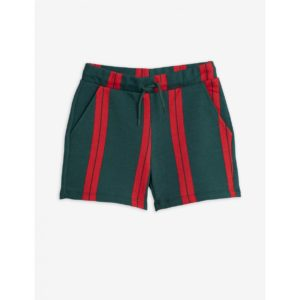 Stripe Sweatshorts Green