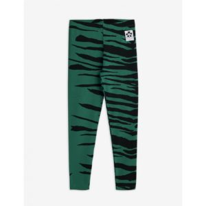 Basic Tiger Leggings Green