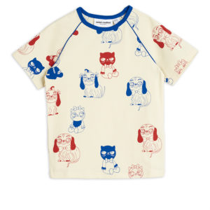 Mini Babies Short Sleeve T-shirt Offwhite