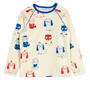 Mini Babies Long Sleeve T-shirt Offwhite