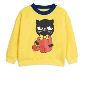 Mini Baby Reversible Sweatshirt Yellow