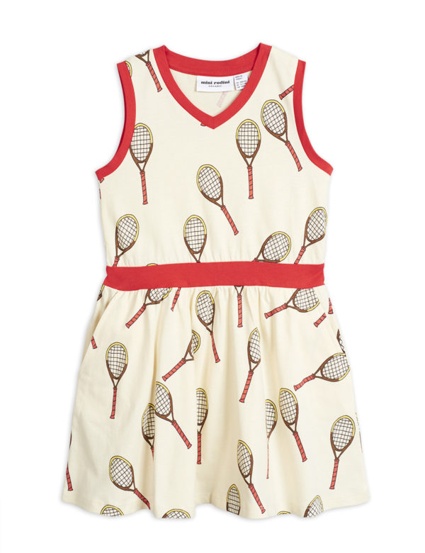 2025012811 1 Mini Rodin Tennis Aop Tank Dress Offwhite V2