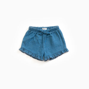 Shorts Soft Denim Baby Ruches