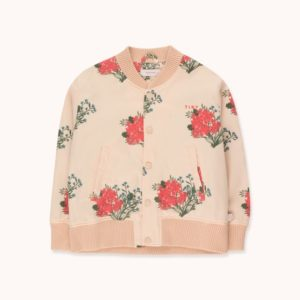 Flowers Light Bomber Jacket