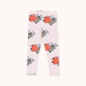 Flowers Pant Light Pink / Red