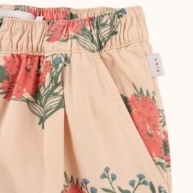 Tinycottons Flowers Pleated Shorts 2