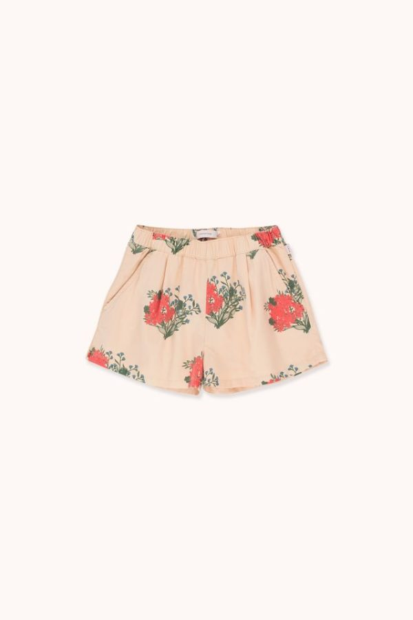 Tinycottons Flowers Pleated Shorts