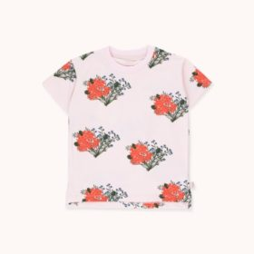 Tinycottons Flowers Tee Pink