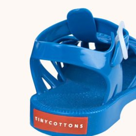 Tinycottons Jelly Sandals Cerulean Blue 5