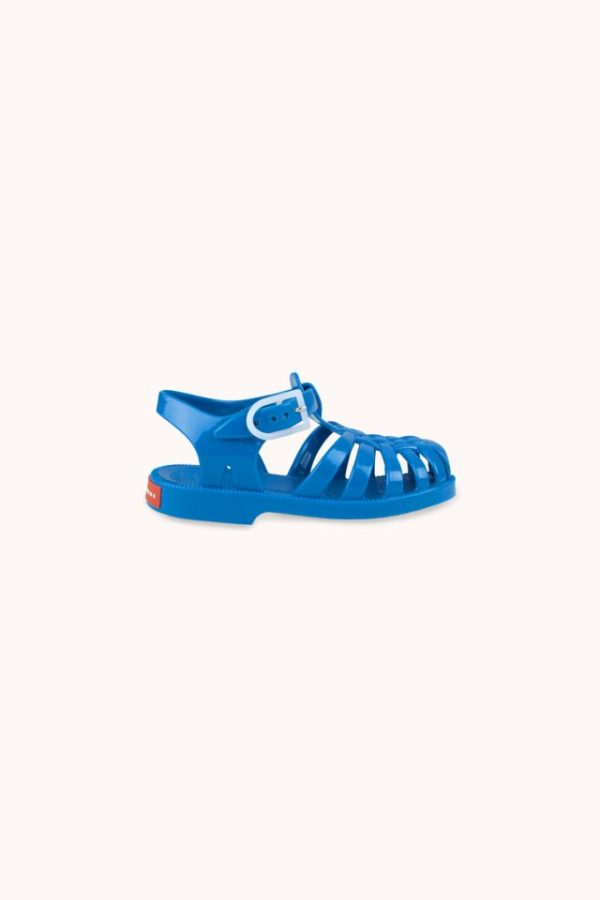 Tinycottons Jelly Sandals Cerulean Blue