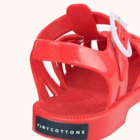 Tinycottons Jelly Sandals Red 4