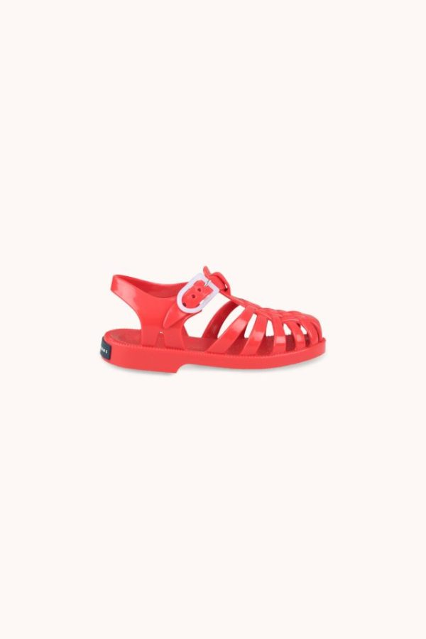 Tinycottons Jelly Sandals Red