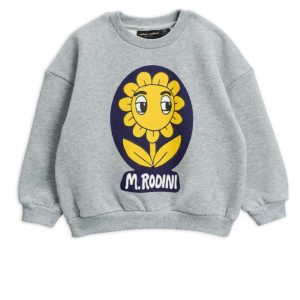 Flower Sp Sweatshirt Grey Melange