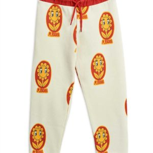 Flower Aop Sweatpants Offwhite