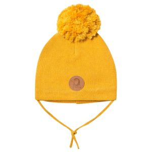 Penguin Beanie Yellow