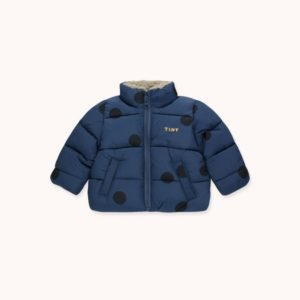 Big Dots Padded Jacket Light Navy/Navy
