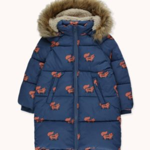 Foxes Padded Jacket Light Navy/Sienna