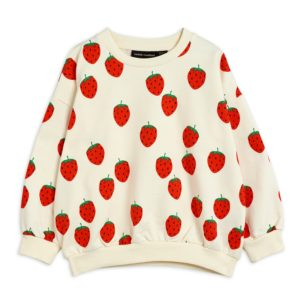 Strawberry AOP Sweatshirt Offwhite