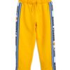 2123016023 1 Mini Rodini Moscow Sweatpants Yellow V1