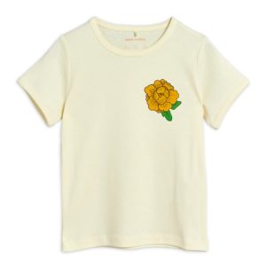 Peony SP Short Sleeve Tee Offwhite