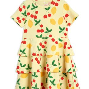 Cherry Lemonade AOP Short Sleeve Dress
