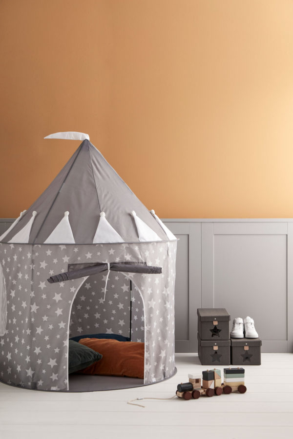 Kid's Concept Play Tent Grey 2